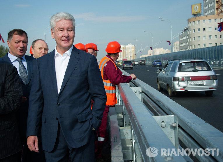 В Москве открыт самая длинная эстакада
