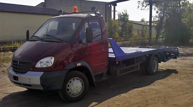 «НижСпецАвто» представил новый эвакуатор ГАЗ 33106 (Валдай) с ломаной платформой