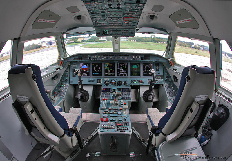 КРЭТ представил инновационную кабину Бе-200