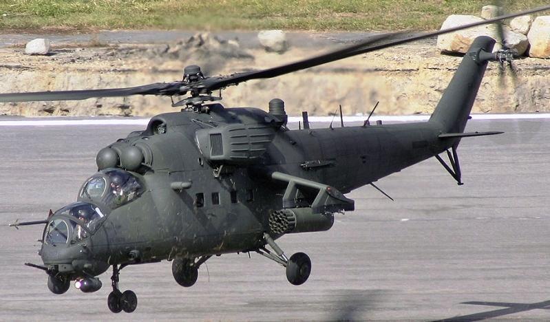 Третья партия российских вертолетов Ми-35 поставлена в Ирак