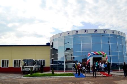 В Хлыстово открыли новый физкультурно-оздоровительный комплекс