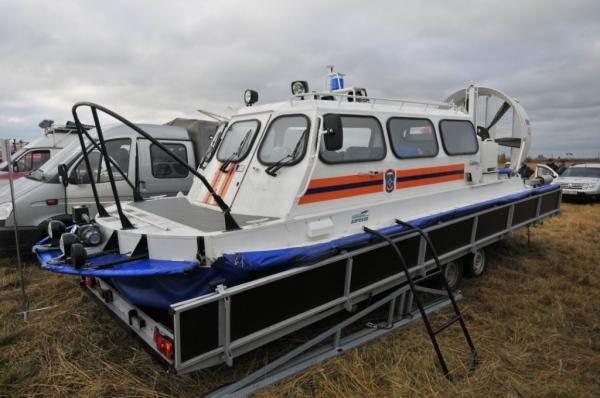 Сотрудники МЧС в Рязанской и Тульской областях получили катера на воздушной подушке