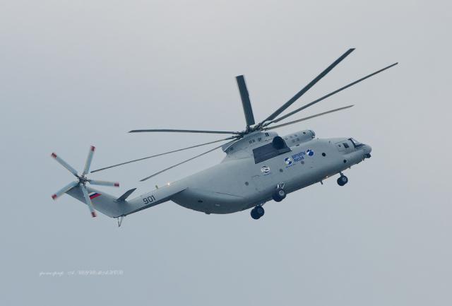 Ми-26Т2 завершил летные испытания для поставки на экспорт