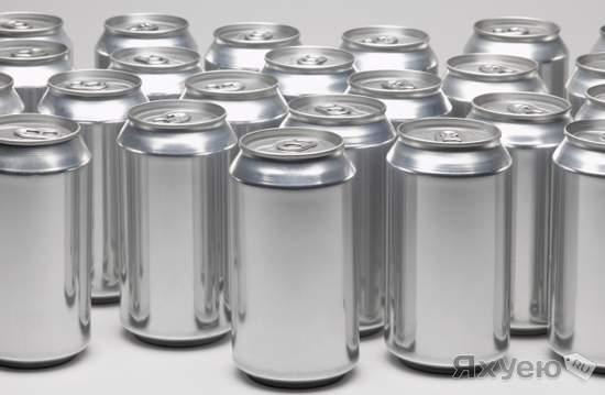Алтайский завод начал производство напитков в алюминиевой банке