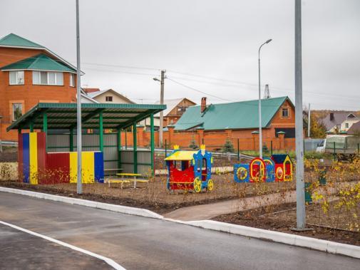 В Казани открыт новый детский сад «Детство»