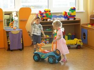 Новый детский сад на 110 мест открылся в Иркутской области