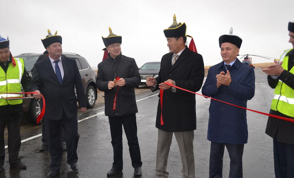 На федеральной трассе М-54 «Енисей» открыт новый 20-километровый участок дороги