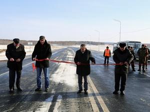 Шестикилометровый участок трассы М-53 открыли в Тулунском районе