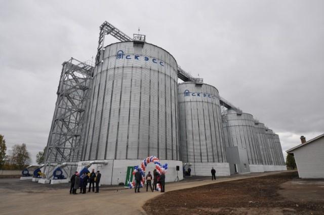 В Ярославской области открыт новый элеватор