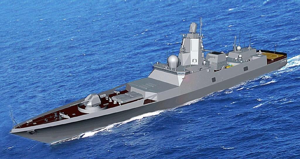 Российский фрегат дальней морской зоны проекта 22350