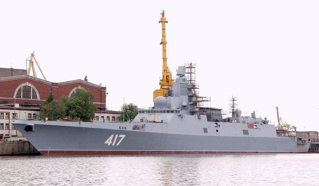 """Головной фрегат """"Адмирал Горшков"""" готов к ходовым испытаниям"""