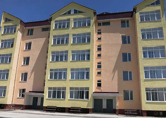 Во Владикавказе сдан под заселение самый крупный в Северной Осетии жилой комплекс для семей военнослужащих ЮВО