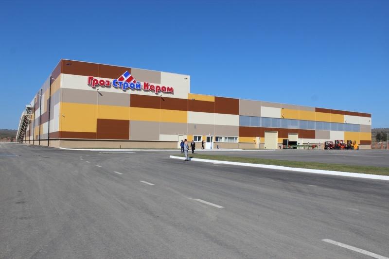 В Чеченской Республике открыт новый кирпичный завод