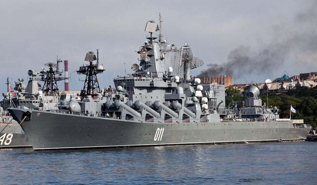 Отряд российских кораблей вышел на боевую службу в южные районы Тихого океана