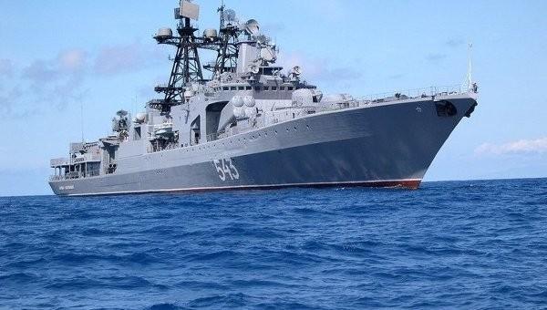 """Большой противолодочный корабль """"Маршал Шапошников"""""""