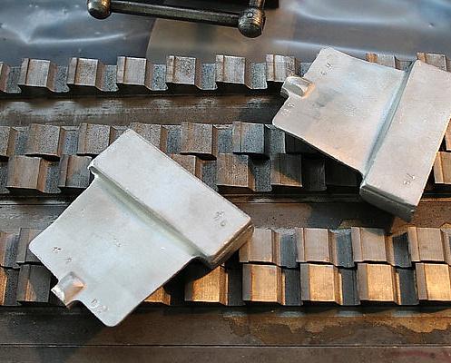 Лопатки авиадвигателя впервые выполнены из алюминия