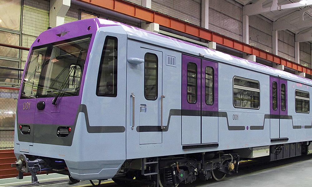 Вагоны метро со сквозным проходом 760 серии для Московского метрополитена отправились на типовые испытания.