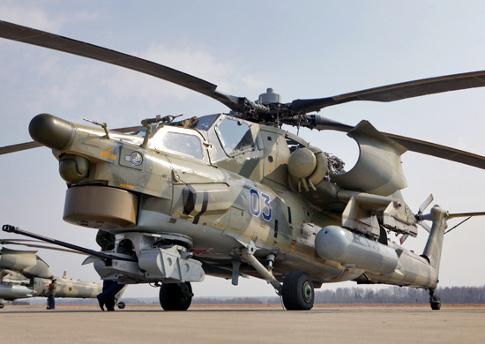 В Ирак прибыли очередные партии Ми-35М и Ми-28НЭ
