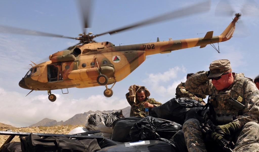 «Рособоронэкспорт» завершил поставки военно-транспортных вертолетов Ми-17В-5 в Афганистан