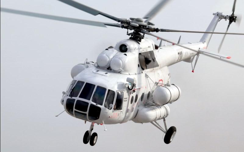 Россия поставила вертолет казахской службе спасения