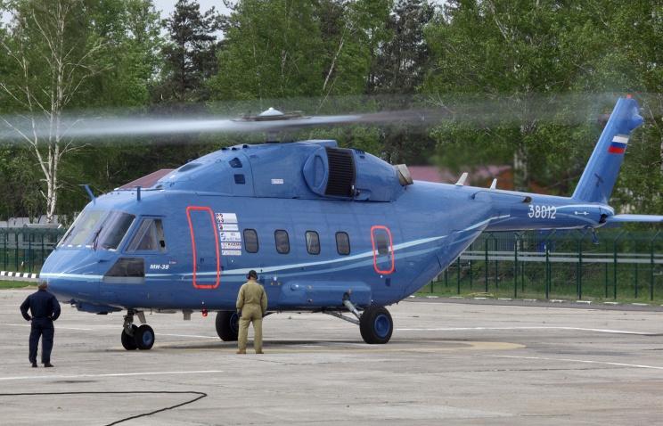 Прототип нового российского многоцелевого вертолета Ми-38 отправлен на летные испытания