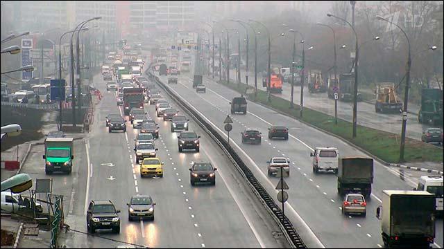 В эксплуатацию введена эстакада на пересечении Мичуринского проспекта и МКАД