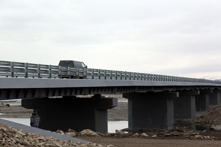 В Магаданской области открыт новый мост