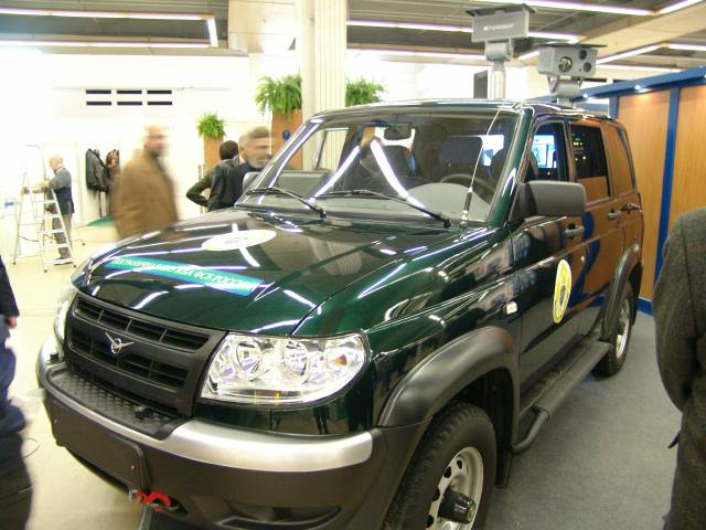 Пограничники получили новые патрульные автомобили