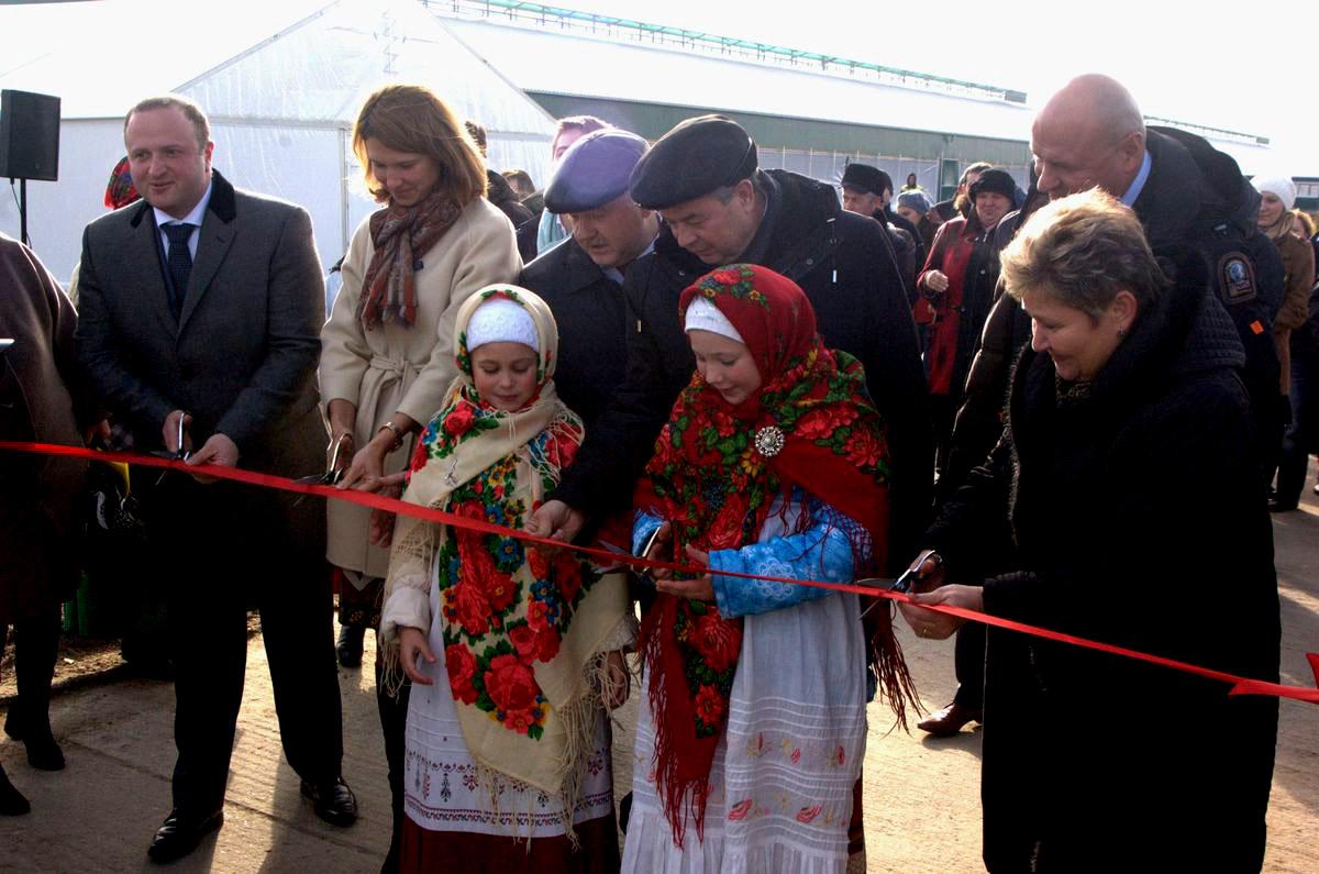 В Калужской области открыли крупный животноводческий комплекс