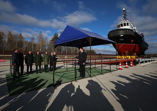 На судостроительном заводе «Пелла» открыта новая верфь