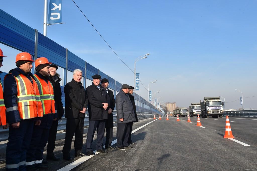 В Москве открыто движение по новой эстакаде на Дмитровском шоссе