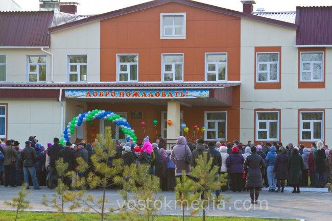 В Хабаровском крае сдан новый детский сад