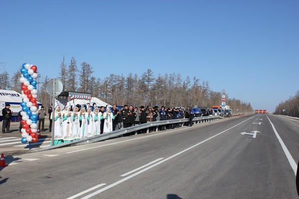 На федеральной автомобильной дороге «Лена» в Якутии сданы 4 участка