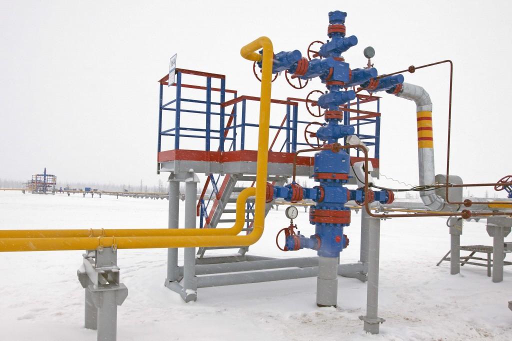 ОАО «Севернефтегазпром» запустило очередную скважину для добычи трудноизвлекаемого туронского газа