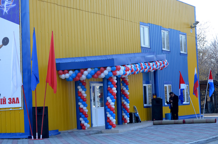 В Приморье открылся новый физкультурно-спортивный центр