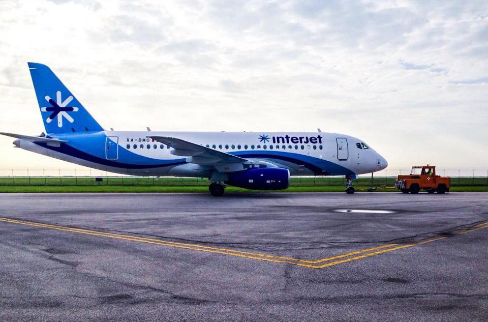 Десятый Sukhoi Superjet 100 передан авиакомпании Interjet