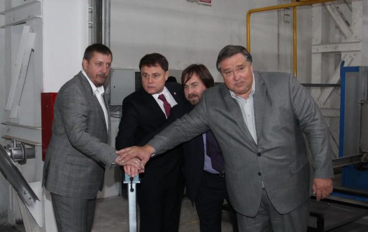 22 октября состоялось торжественное открытие третьей очереди Алексинского стекольного завода