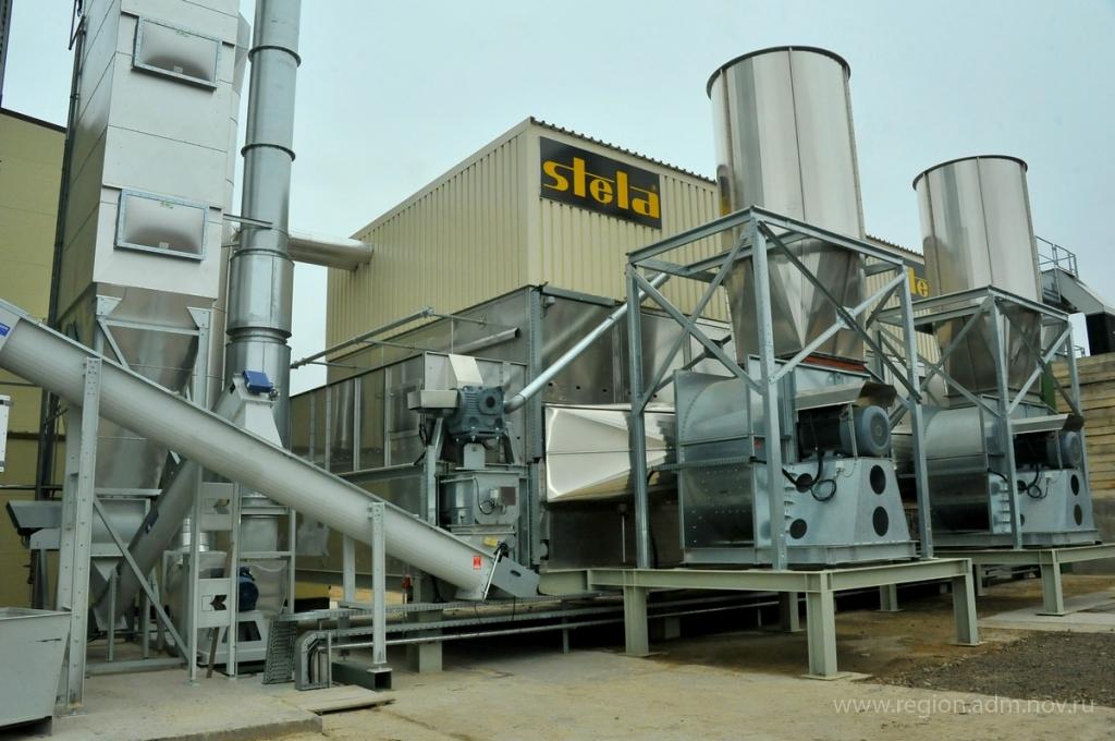 В Новгородской области открыт цех по производству топливных гранул