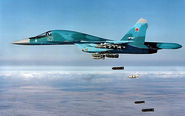 Шесть истребителей Су-34 поступили в Южного военного округа