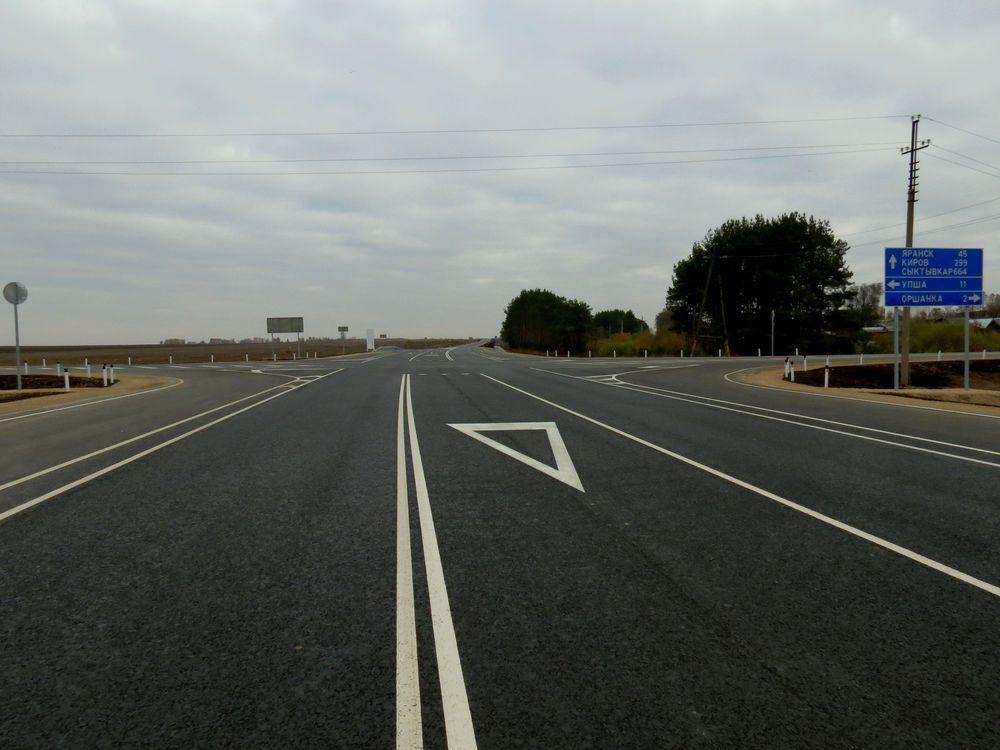 В Марий Эл открылось движение по обновленному участку трассы «Вятка»