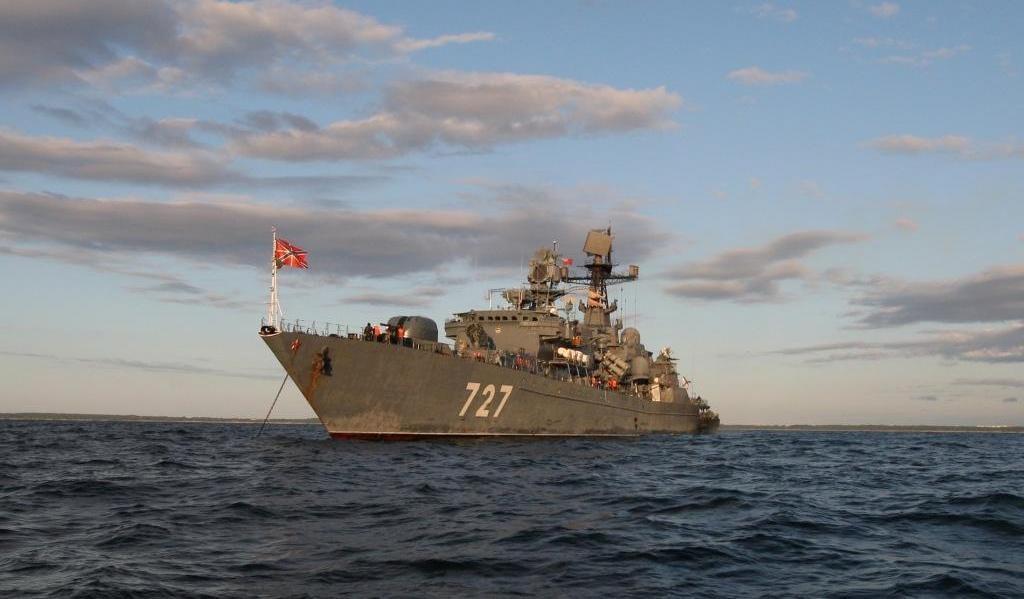 В российско-пакистанском учении «Аравийский Муссон-2014» принимает участие сторожевой корабль «Ярослав Мудрый»