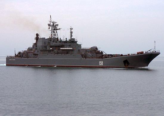 На судоремонтном заводе в Варне завершен ремонт БДК «Цезарь Куников» Черноморского флота