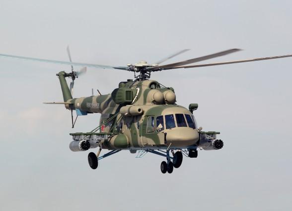 Новый Ми-8 оснастили полностью российским оборудованием