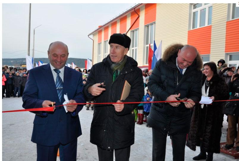 В Красноярском крае открылась новая школа