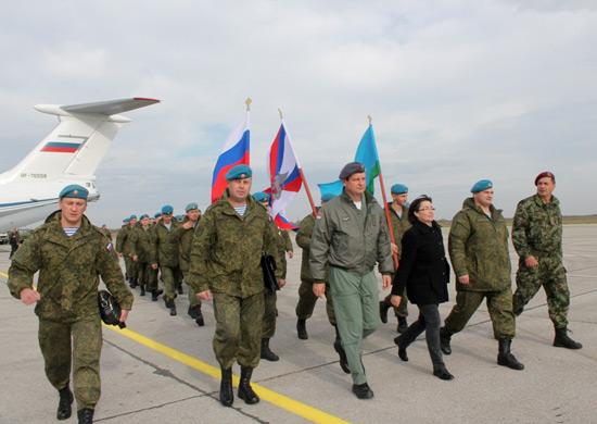 Российские десантники прибыли в Сербию для участия в совместном антитеррористическом учении