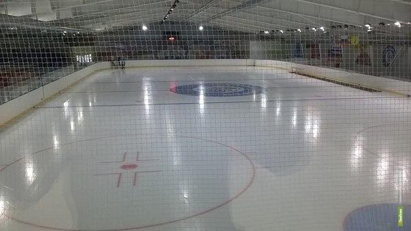 В Тамбовской области торжественно открыт ледовый дворец «Сокол»