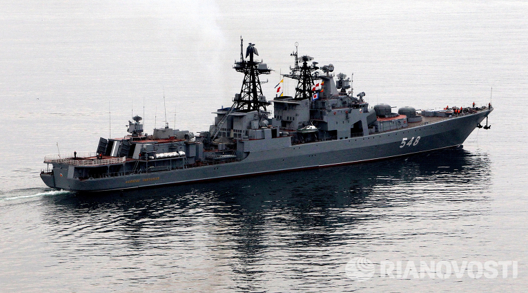 Тихоокеанский флот получил 10 новых вспомогательных и специальных судов