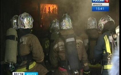 Иркутские пожарные сконструировали огневой симулятор