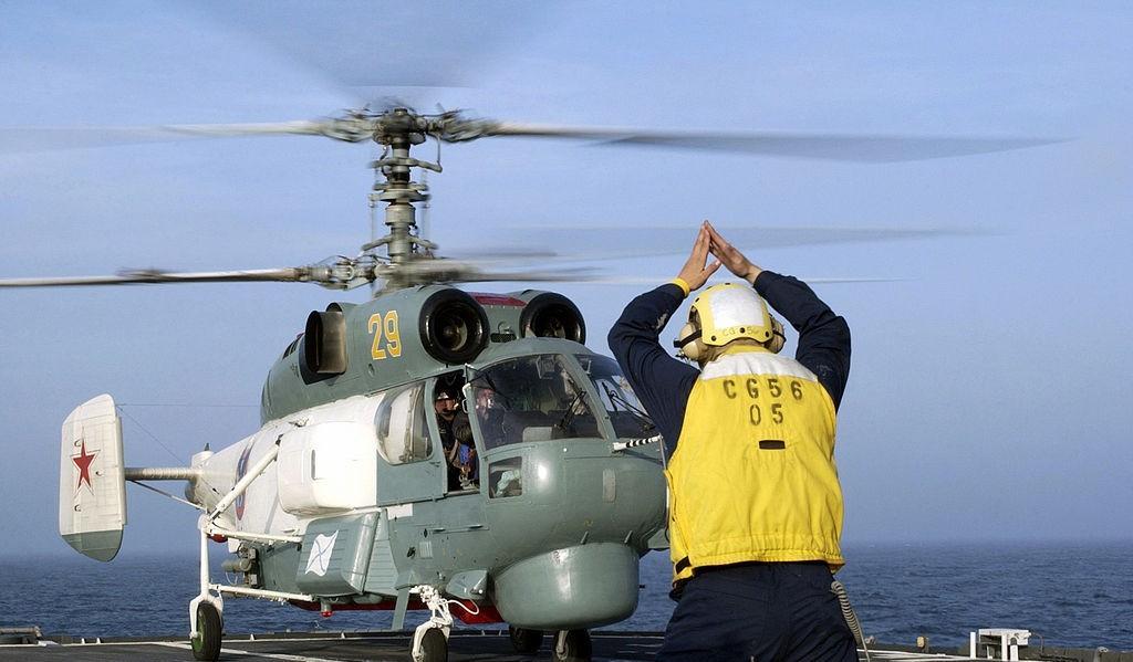 Вертолет морской авиации флота Ка-27ПЛ