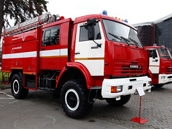 Пожарные автомобили КАМАЗ переданы Казахстану